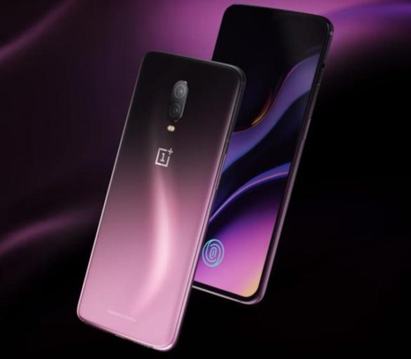 Image of One Plus 6T in purple