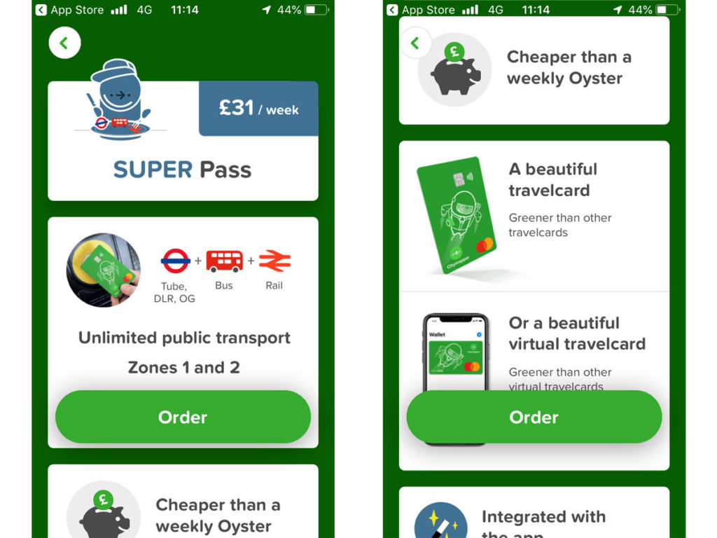 WTH is Citymapper travel card?